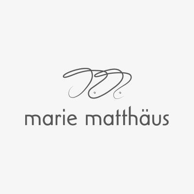 logodesign für die Schauspielerin Marie Matthäus