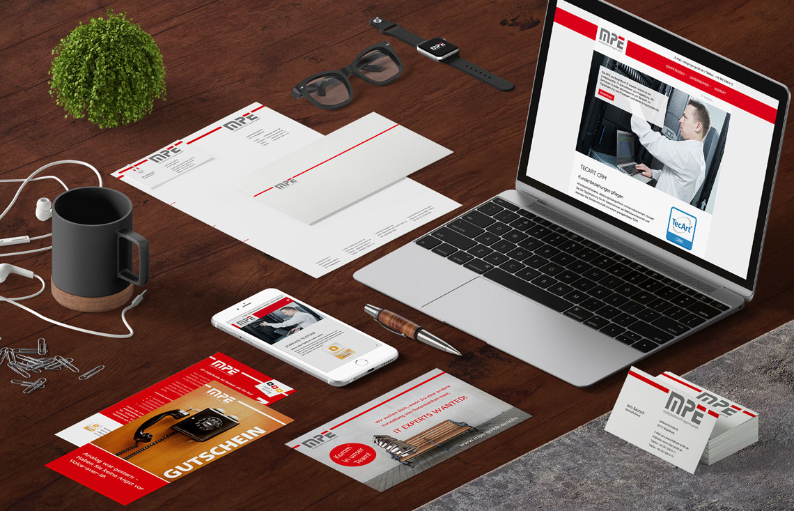 Briefbogen Flyer, Anzeigengestaltung, Briefpapier
